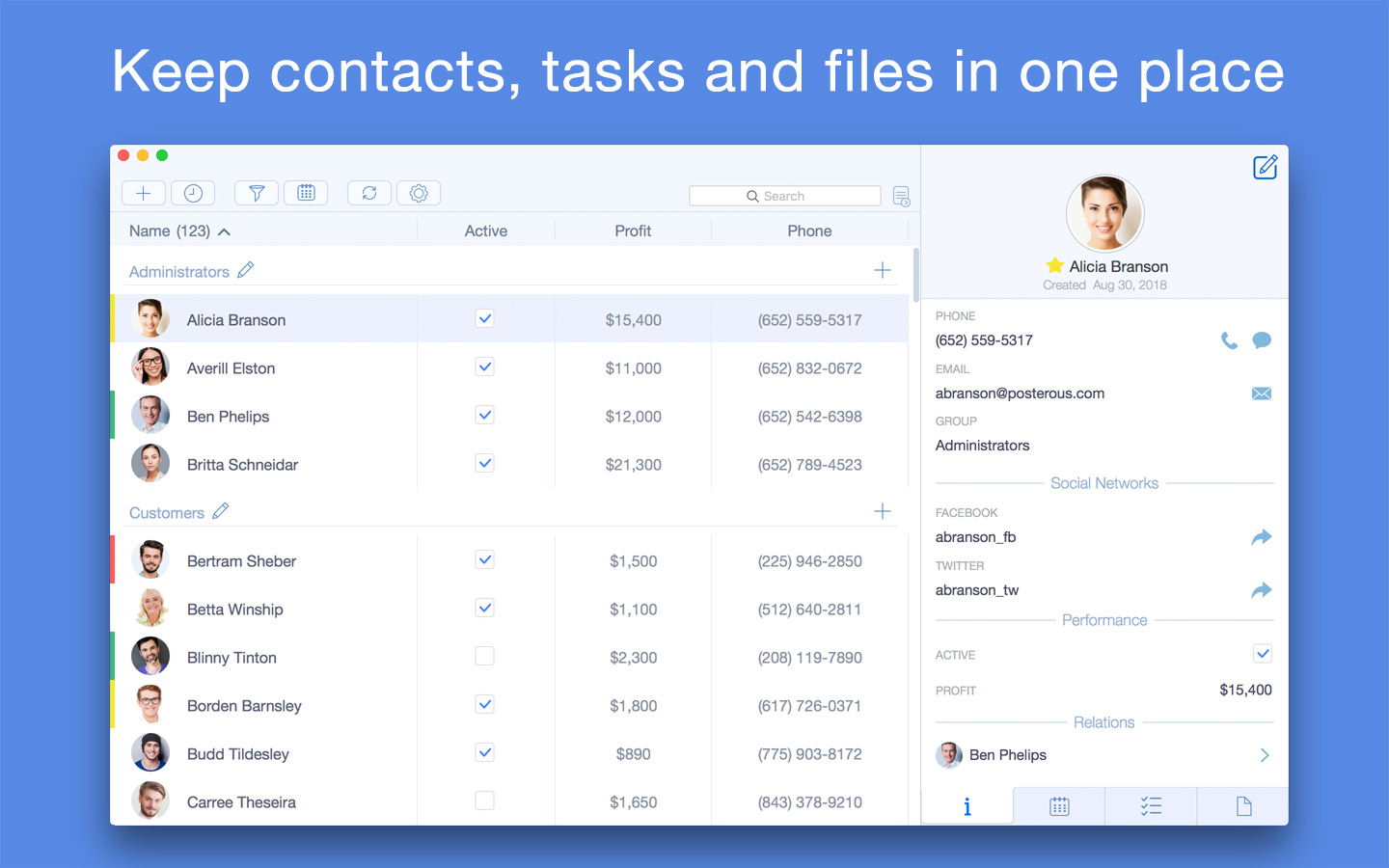 Top Contacts Now Brings Powerful CRM Features to macOS